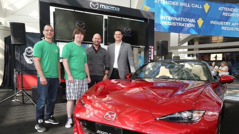 Štědrá Mazda obdarovala vítěze i poraženého