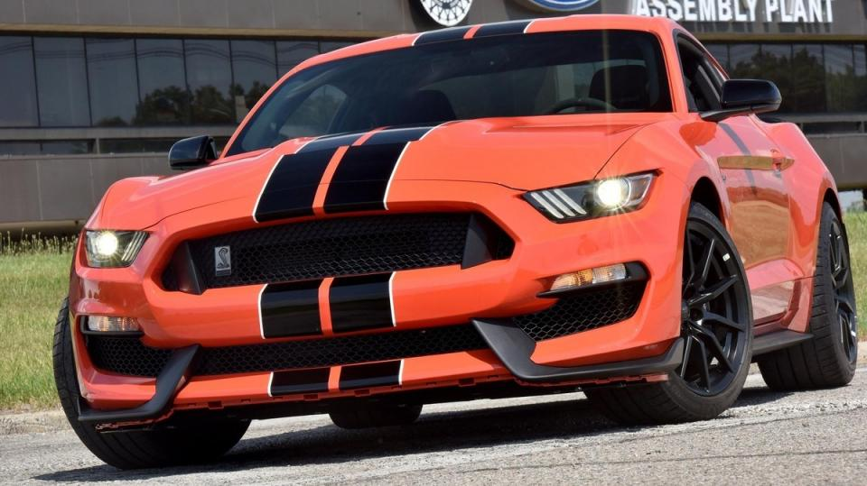 Ford Shelby GT350R Mustang.