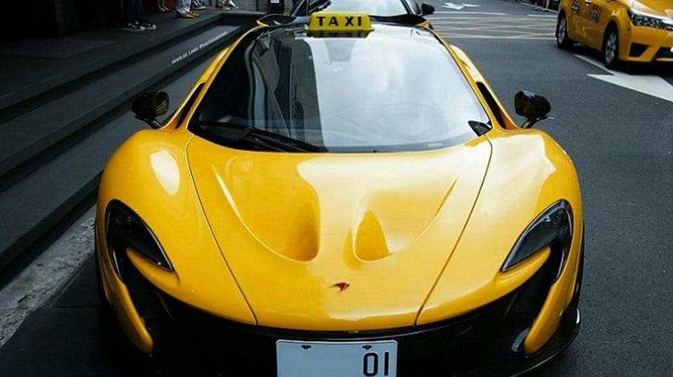 Taxík snů: McLaren P1 - Obrázek 2
