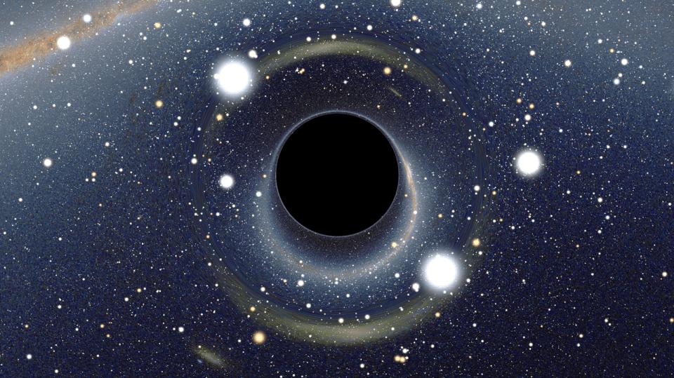 Vypadá takhle černá díra?