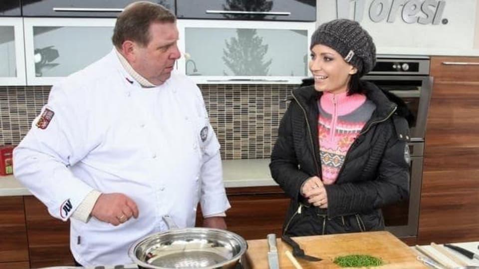 Česko na talíři II (3) Gábina Partyšová s kuchařem