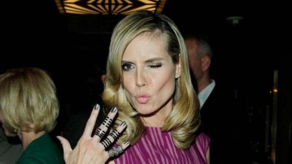 Heidi Klum má módu nejen v malíčku