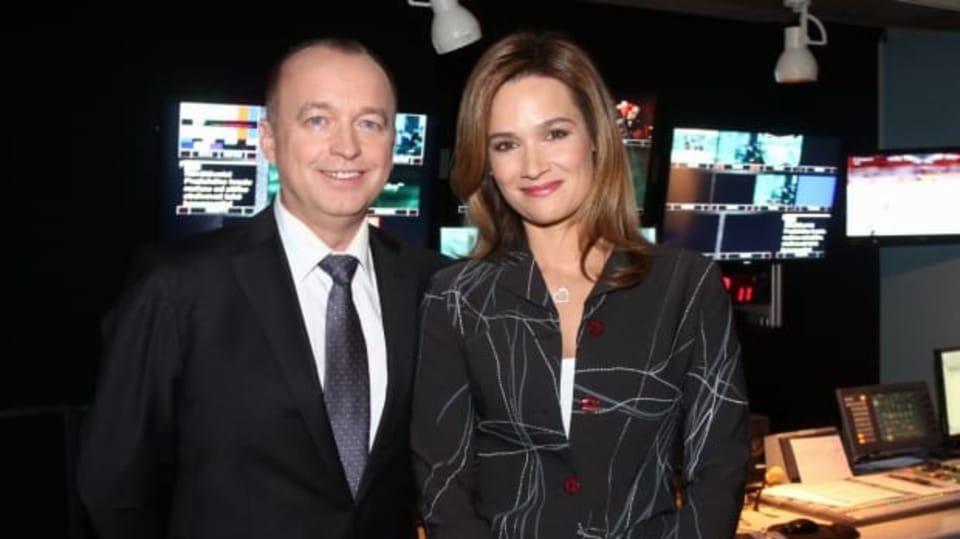 Nový moderátorský tým zpravodajství na Prima family: Karel Voříšek a Klára Doležalová Maksimovič