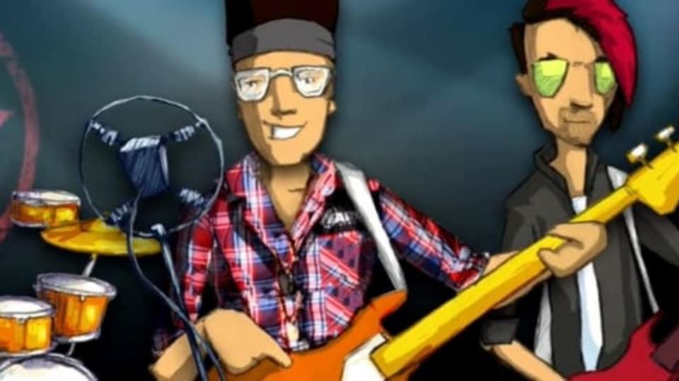Rybičky 48 v animovaném videoklipu Striptérka Anna