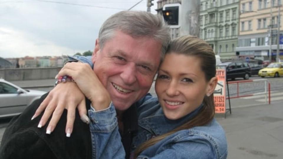 Láďa Kerndl s dcerou Terezou