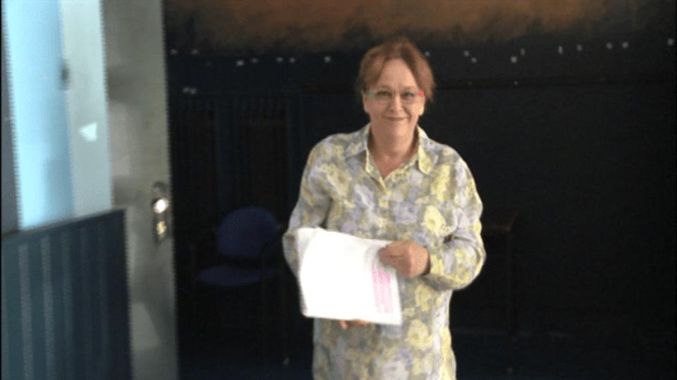 Video VIP zprávy: Jitka Smutná při divadelní premiéře