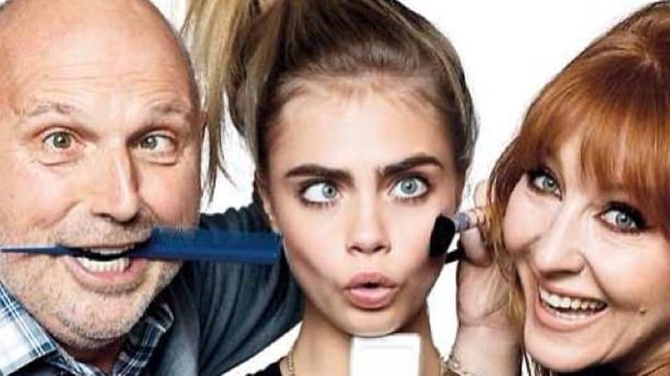 Modelka Cara Delevingne si sama ze sebe umí udělat legraci