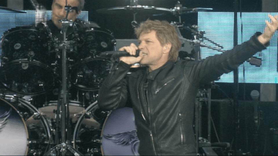 Video VIP zprávy: Bon Jovi koncertovali v Praze