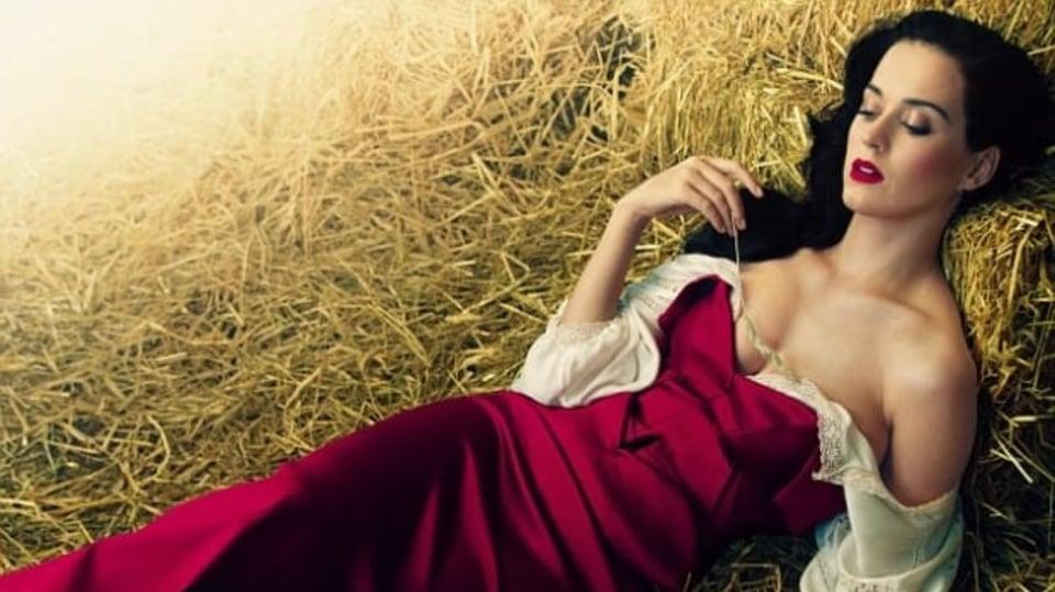 Katy Perry poprvé pro Vogue prozradila, jaké bylo její nevydařené manželství s komikem Russellem Brandem.