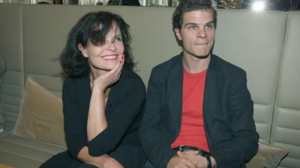 Jana Krausová se synem Adamem