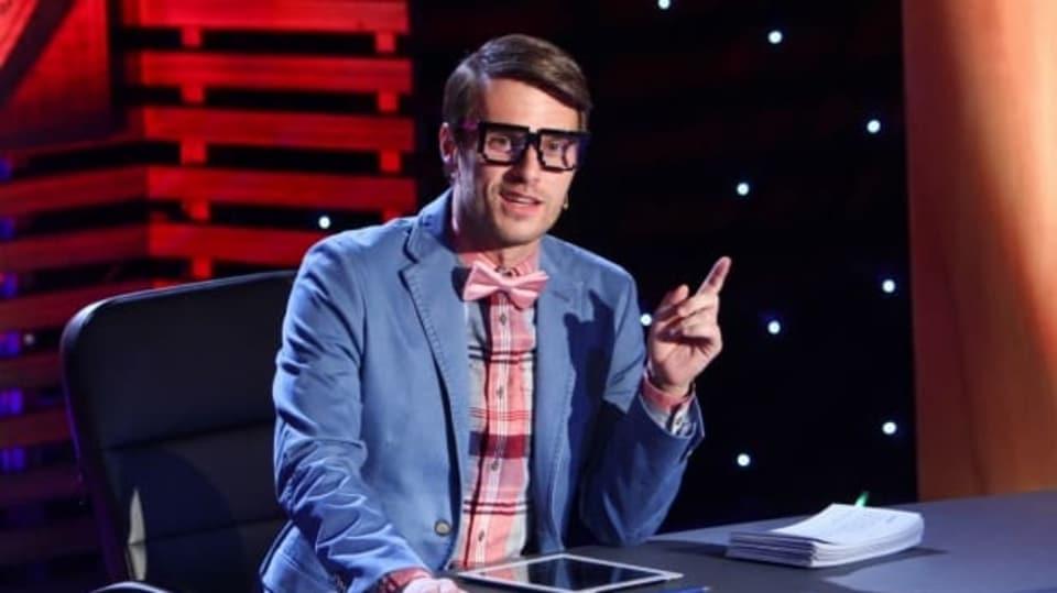 Leoš Mareš očekáváve své show pouze vtipné odpovědi