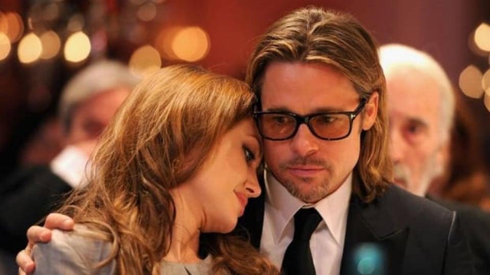 Angelina a Brad vypadají jako velmi spokojený pár
