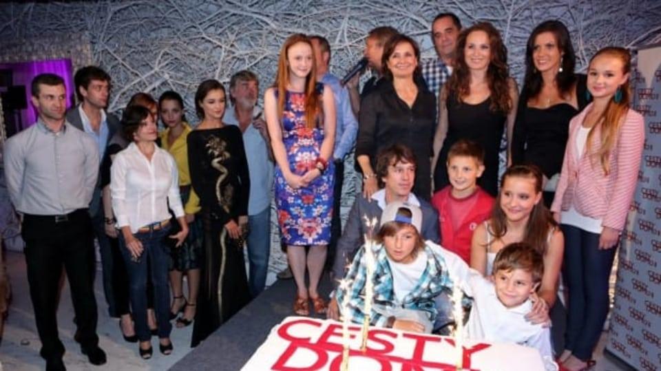Video VIP zprávy: Večírek 200. dílu seriálu Cesty domů