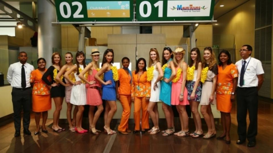 Soustředění České Miss 2014 na ostrově Mauricius - Obrázek 1
