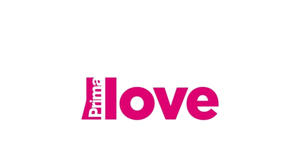 Prima LOVE logo big platno