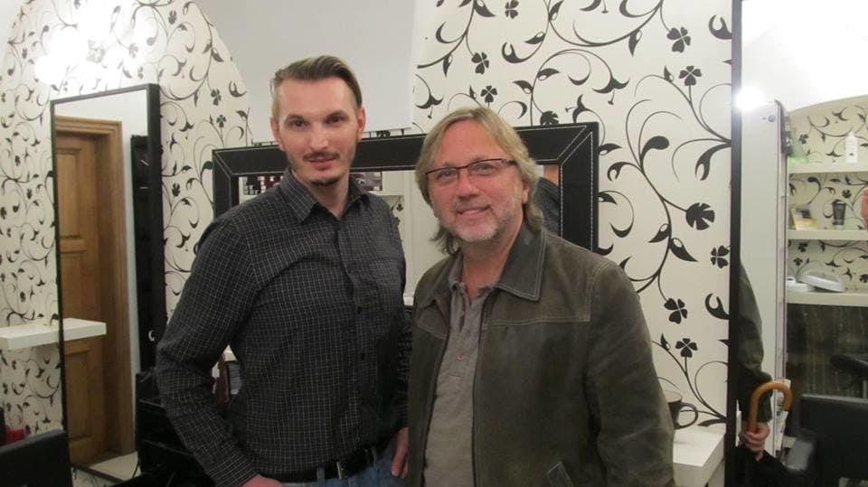 Dalibor Janda a jeho dvorní fotograf