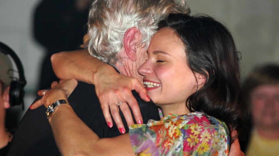 V objetí milované ženy Elišky