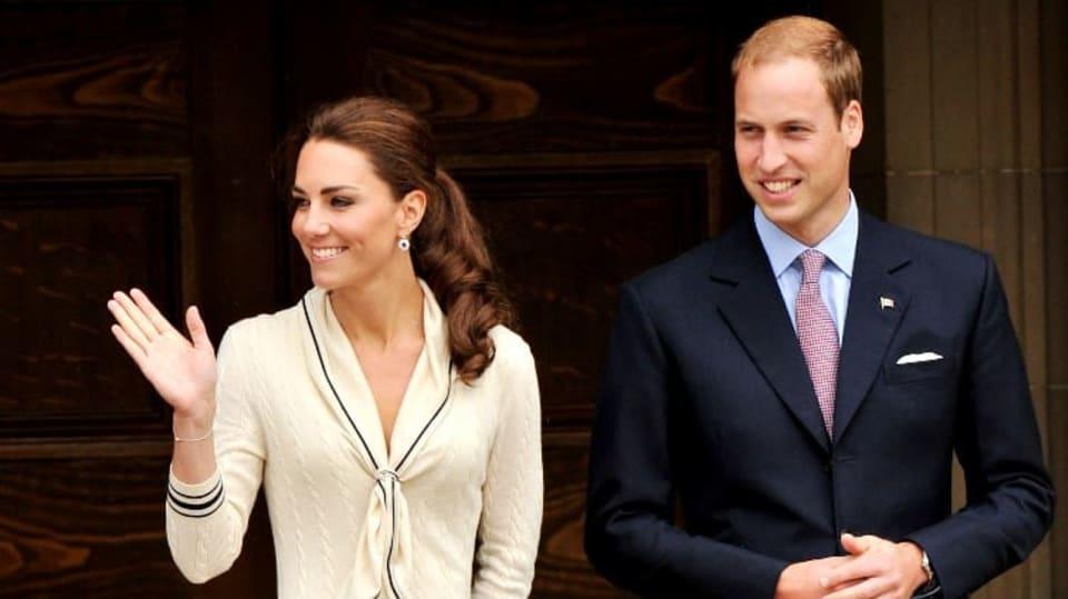 Vévodkyně Kate a princ William