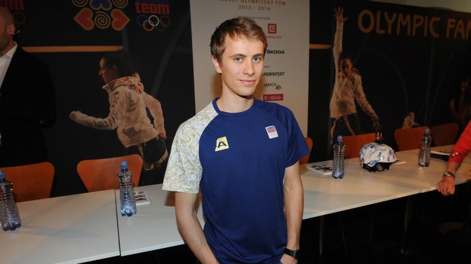 Michal Březina je český krasobruslař