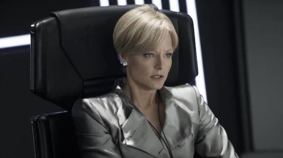 Jodie Foster ve svém posledním filmu Elysium