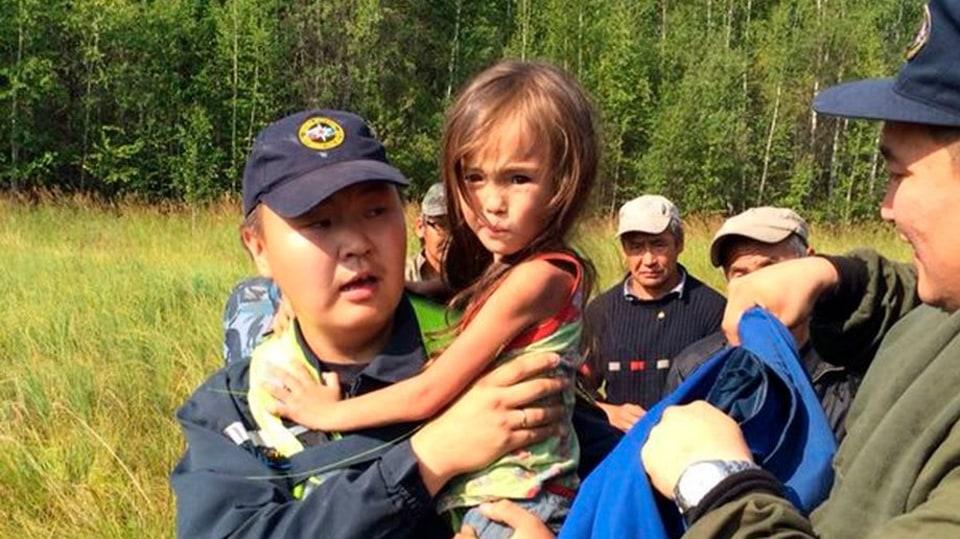 Zázrak v sibiřské tajze! Tříletá holčička přežila 11 dní v divoké přírodě