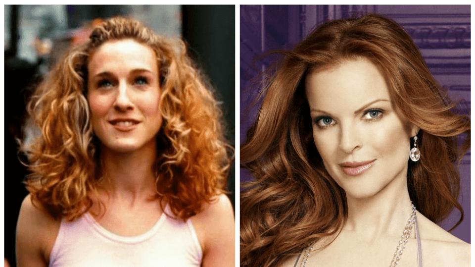 Koláž Bree vs. Carrie