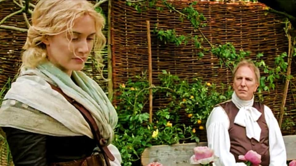 Alan Rickman a Kate Winslet