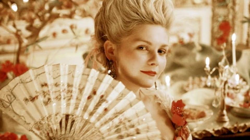 Kirsten Dunst ve filmu Marie Antoinetta