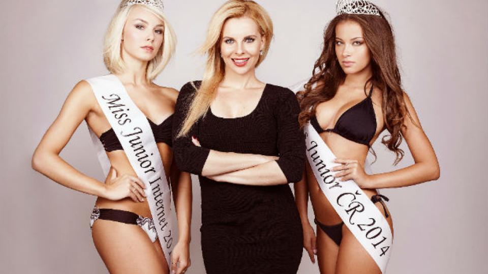 Nová ambasadorka soutěže Kateřina Kristelová už soutěž Miss také vyhrála. V deseti letech na dětském táboře.