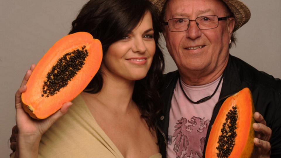 Marta Jandová s tátou