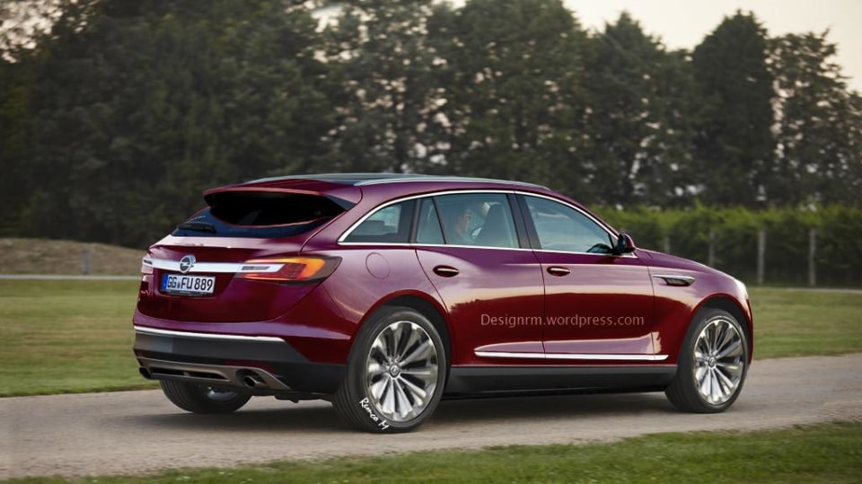 Opel Antara Render