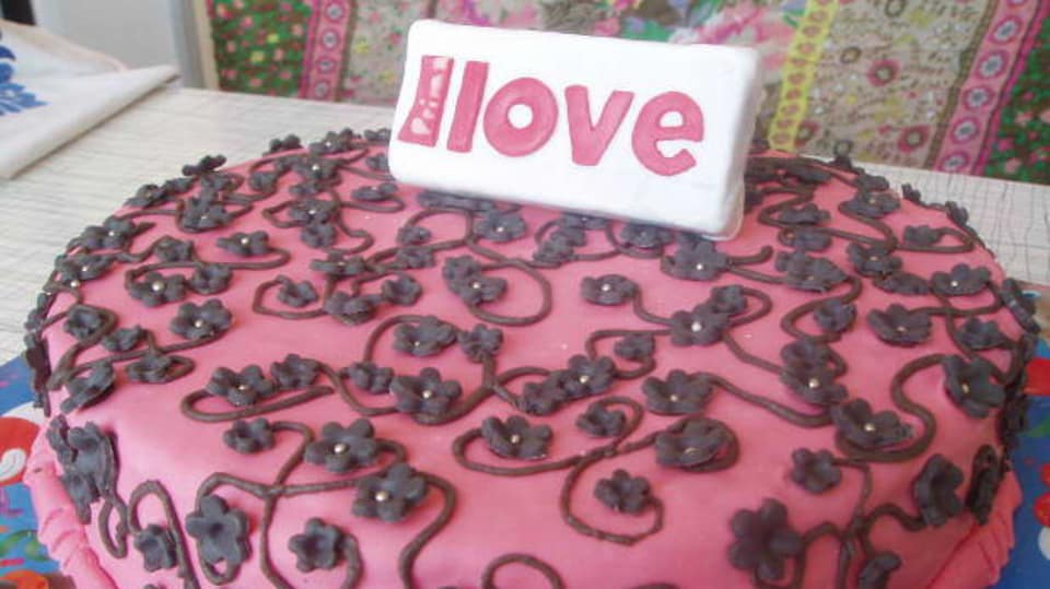 Báječný dort pro Prima love - Evička Lacinová