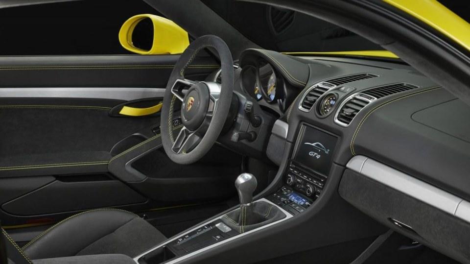 Porsche Cayman GT4 - Obrázek 9