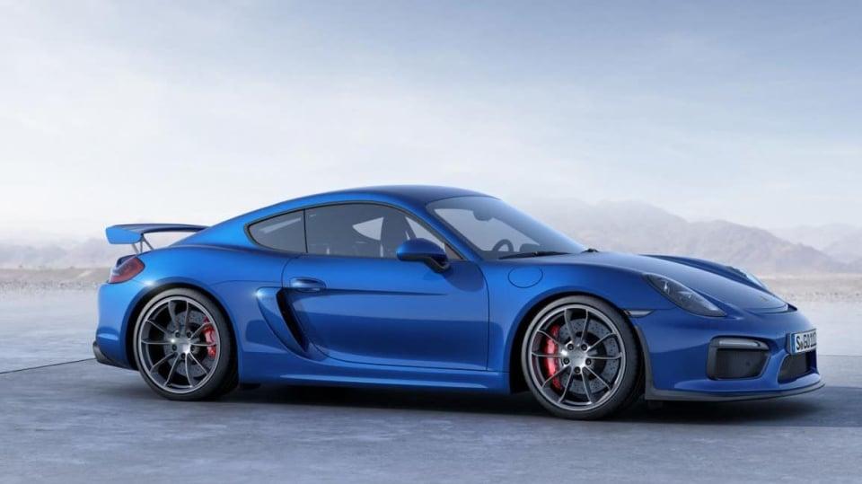 Porsche Cayman GT4 - Obrázek 7