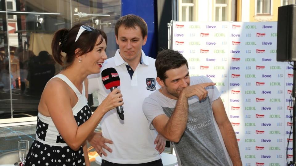 FTV Prima se rozjela do Mikulova představit své plány na podzim...