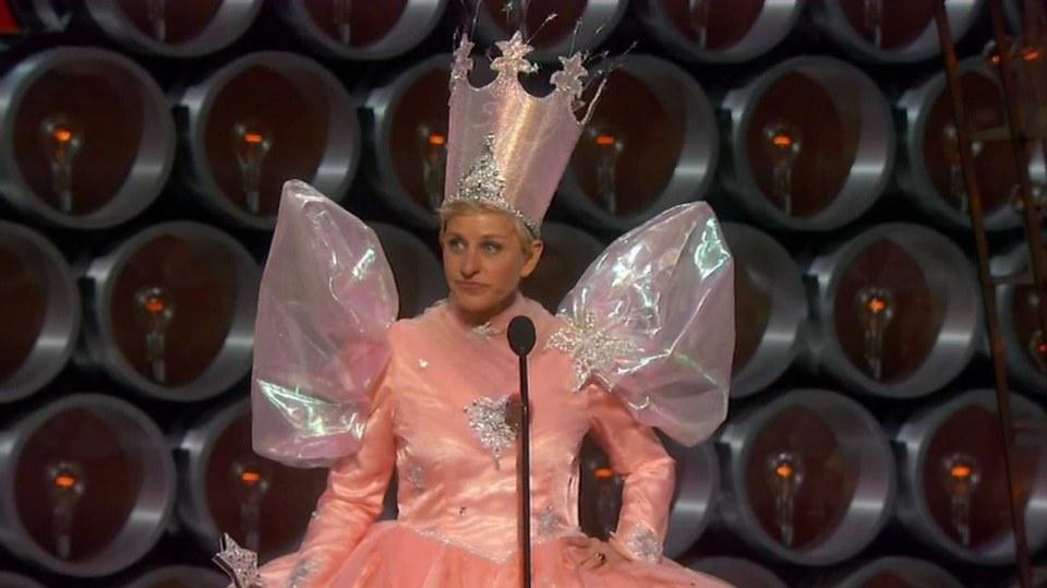 Moderátorka Ellen de Generes je skutečně kouzelná....