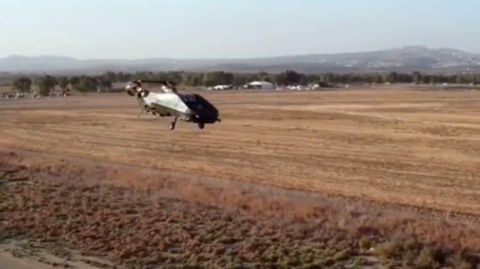 Záchranný dron vyvíjený pro izraelskou armádu