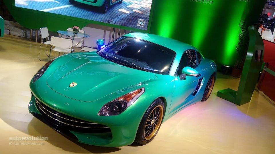 Čínská kopie Porsche a Ferrari