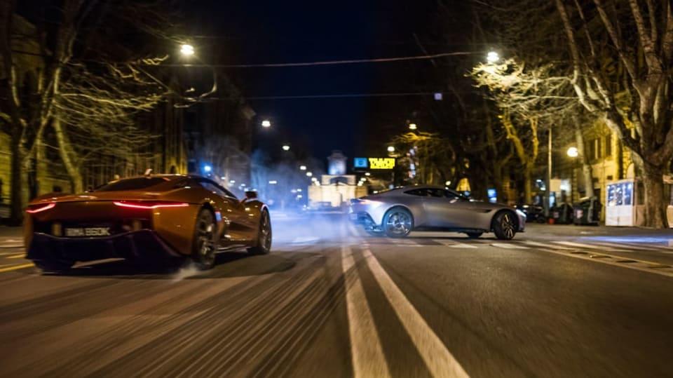 Auta z nového Jamese Bonda v akci - Obrázek 11