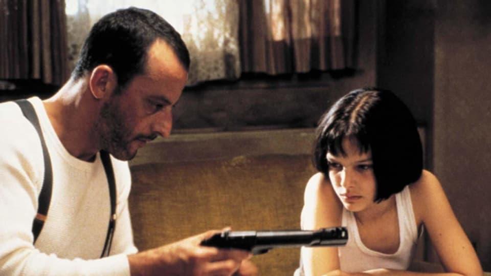 Jean Reno a Natalie Portman