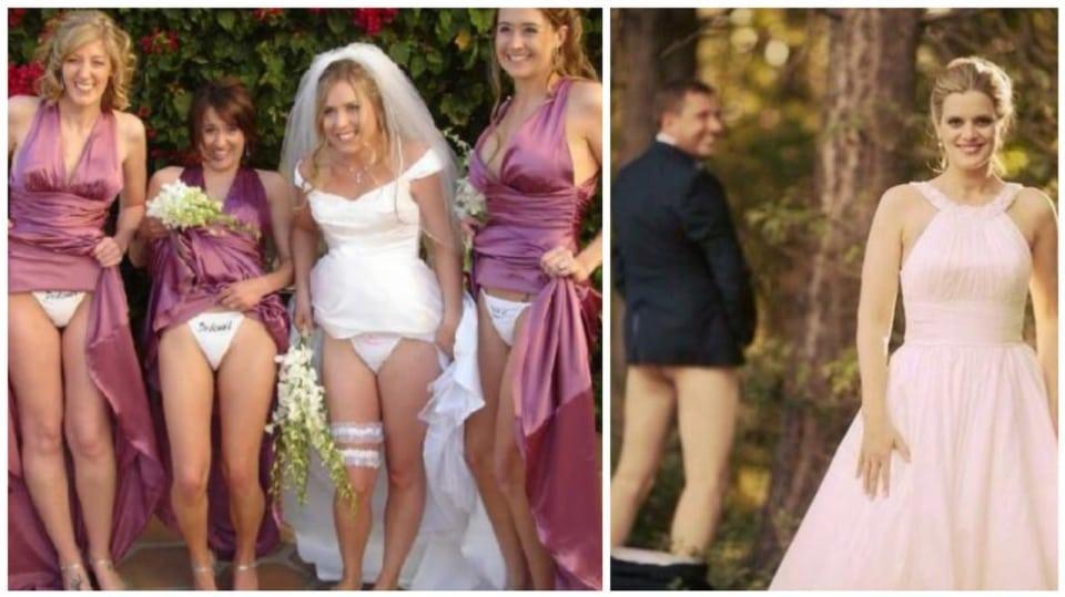 Ty nejodvážnější svatební fotky.