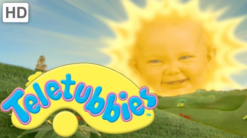 Vlezlé sluníčko z Teletubbies zná každý