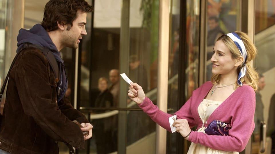 Sex ve městě - Carrie se potkává s Burgerem