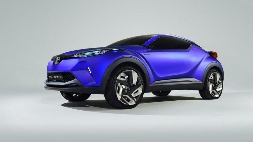 koncept Toyota C-HR