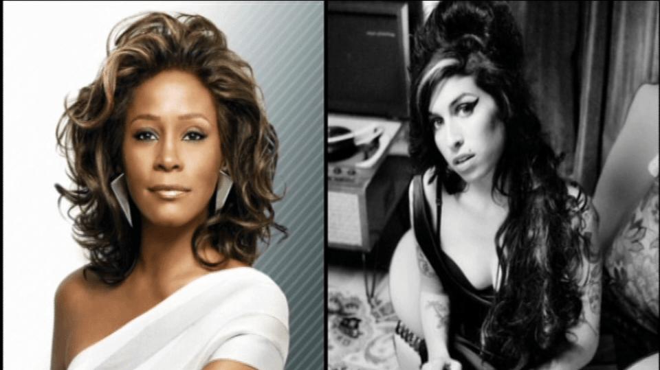 Video VIP zprávy: Whitney Houston, Amy Winehouse