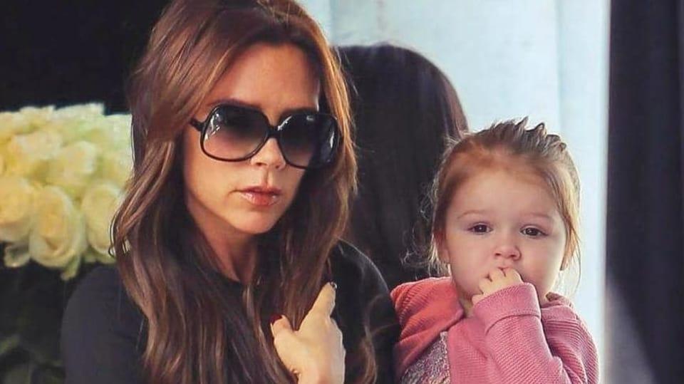 Victoria Beckham a její malá dcera Harper mají stejnou lásku k módě