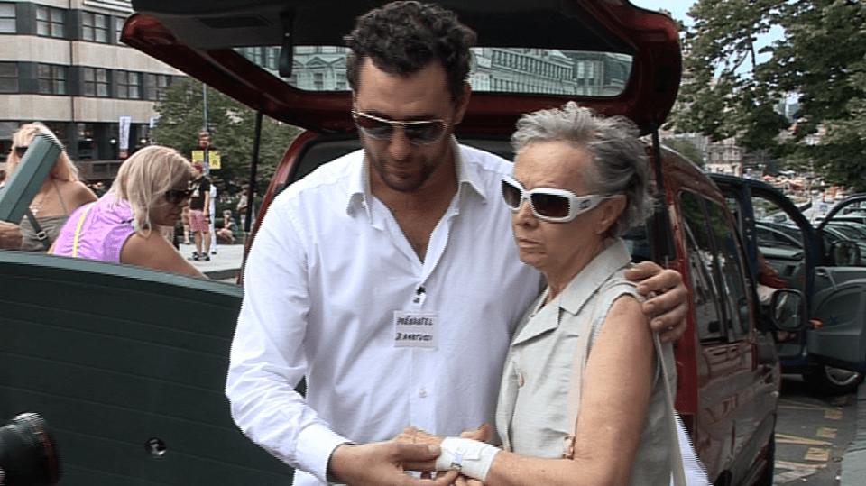 Video VIP zprávy: Domenico Martucci a jeho matka