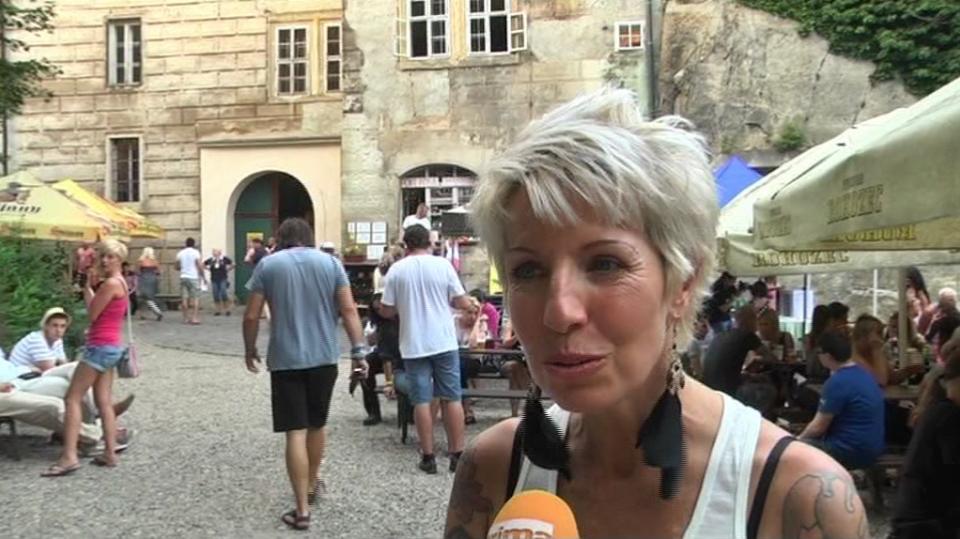 Video VIP zprávy: Marcela Březinová na Housce