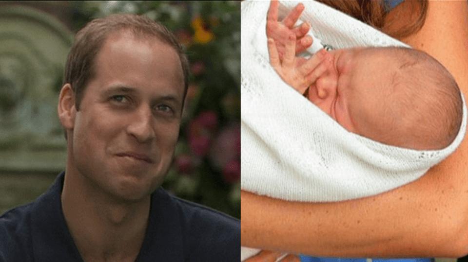 Video VIP zprávy: Princ William vypráví o přebalování potomka