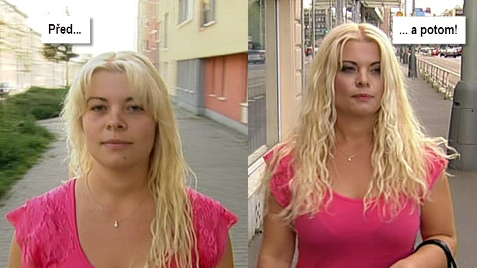Video VIP zprávy: proměna reportérky Jany Urbanové